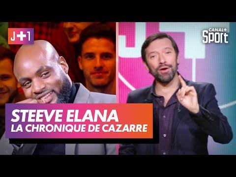 Julien Cazarre avec Steeve Elana !