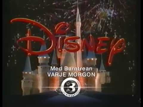 Barntrean med Disney TV3 - (Svenska/Swedish)