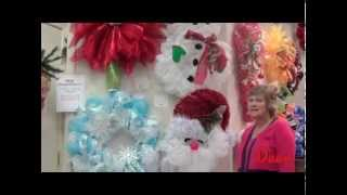 Christmas Mesh Decor Samples 2014 with Lorie Thumbnail