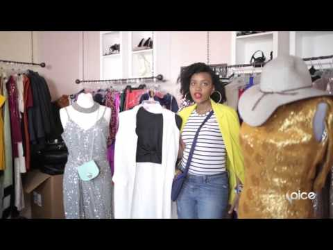Get Ready With Kung'ara | Anita Gaitho at Kung'ara Kenya Boutique in Nairobi (SPICE TV AFRICA)