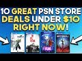 10 GREAT PSN Store Deals UNDER $10 RIGHT NOW! (PSN MID-YEAR SALE)