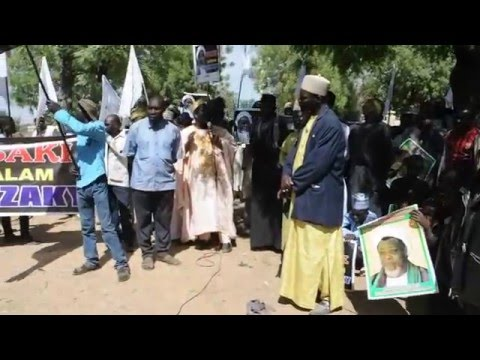PROTEST FREE ZAKZAKY AND MAULUDIN NABIY (SAWA) MARKED IN KANO
