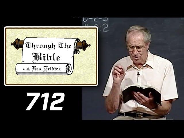 [ 712 ] Les Feldick [ Book 60 - Lesson 1 - Part 4 ] Isaiah 1:1-2:2 |b