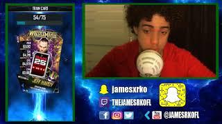 *NEW* WM34 Pro Card! TBG Pack!  WWE  SuperCard