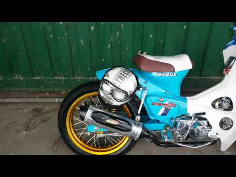 HONDA C70 CAFE RACER COLOMBIA