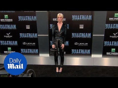 Poppy Delevingne rocks sequin jumpsuit at Valerian premiere - Daily Mail