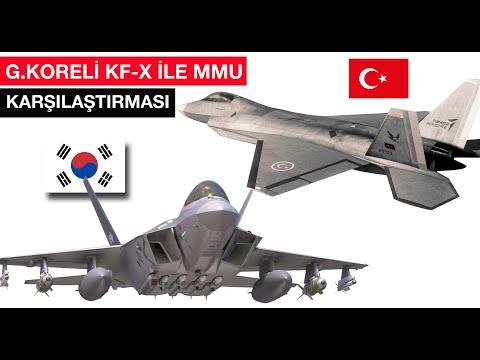 G. Kore'nin KF-X ile Milli Muharip Uçak (MMU) karşılaştırması #tolgaözbek #mmu #kfx #savaşuçağı