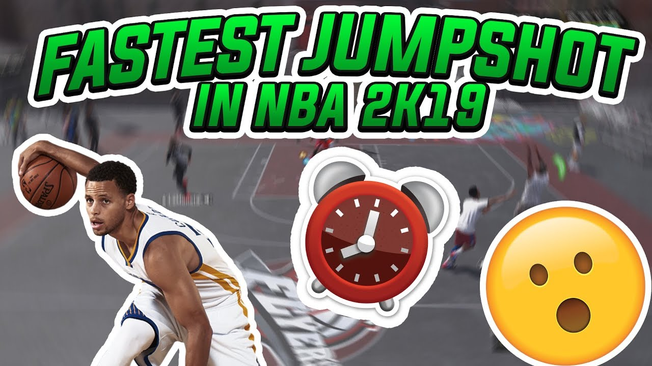 FASTEST CUSTOM JUMPSHOT IN NBA 2K19! GREEN RELEASE JUMPSHOT!!✅