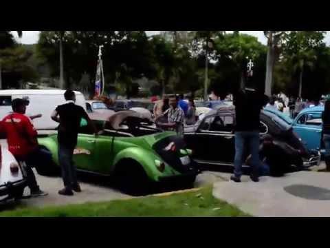 Caravana VW en Caracas Venezuela
