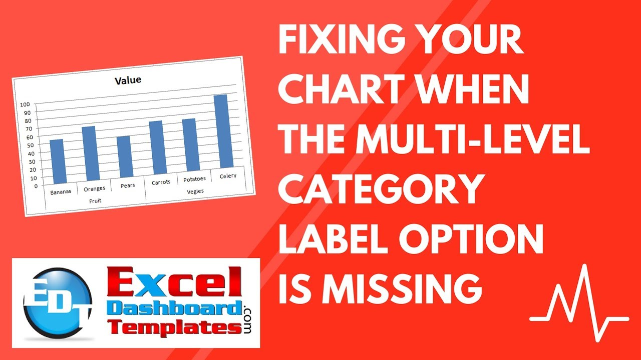 Fixing your excel chart when the multi level category label option fixing your excel chart when the multi level category label option is missing ccuart Images
