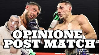LOMACHENKO VS LOPEZ OPINIONE POST MATCH