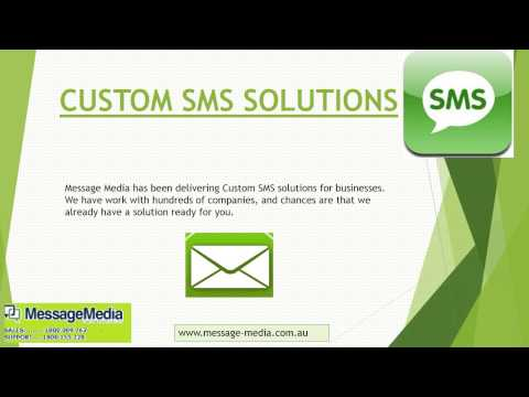 Message Media: The Custom SMS Whiz