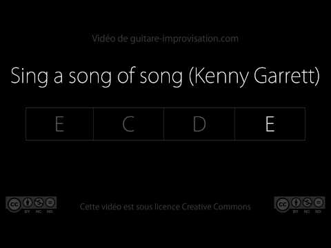 Sing a song of song (Kenny Garrett) - Backing track