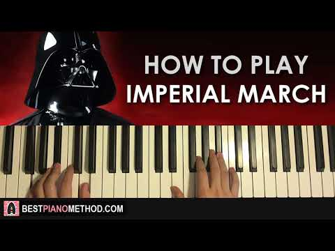 HOW TO PLAY - Star Wars - The Imperial March (Darth Vader's Theme) (Piano Tutorial Lesson)