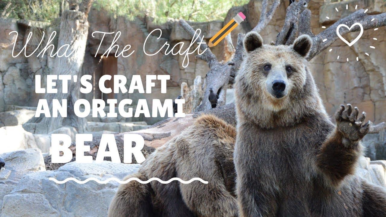 Sea Bear - Origami | 720x1280