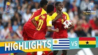 Uruguay vs. Ghana: 0-5 Goals & Highlights | Mundial Femenina Sub-17 | Telemundo Deportes