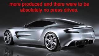 car buying aston martin one 77 it s a beautiful hi tech supercar you never want to stop driving