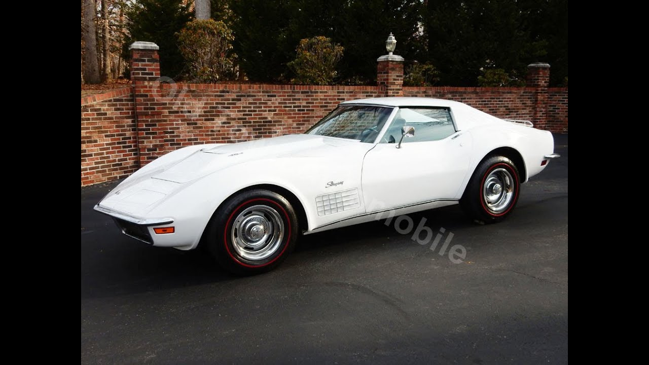 1971 corvette 454 for sale at old town automobile in. Black Bedroom Furniture Sets. Home Design Ideas