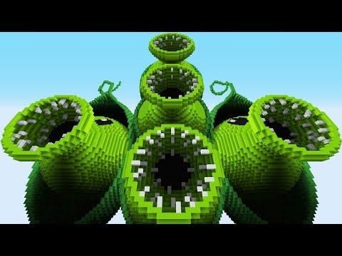 PEA POD ATTACK – PvZ Vs Minecraft Vs Smash