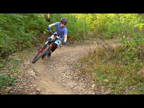 Palos IL Trails - Fall Mountain Biking Ride 2016