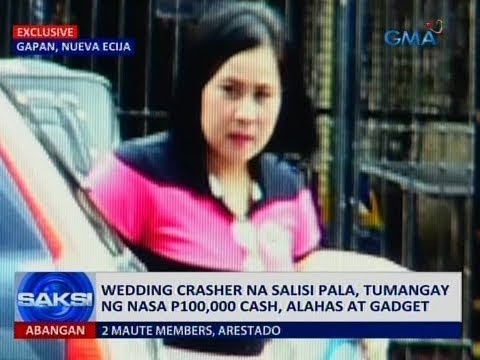 WATCH: What This WEDDING CRASHER Did Will Surely Shock You! WARNING!