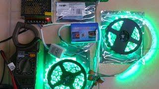 видео RGB контроллеры, LED диммеры и усилители. Управление светом.