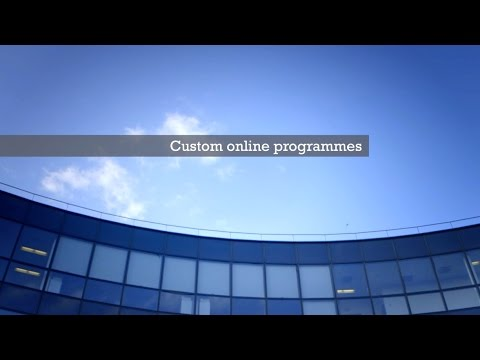 Accenture partnership with INSEAD Customised Online Programmes