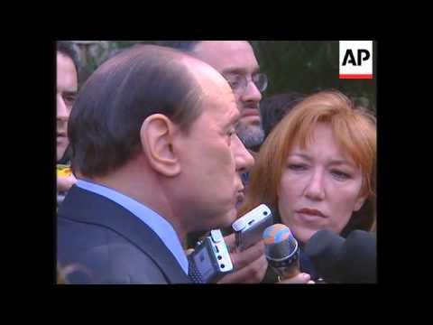 "Berlusconi angry at ""Big 3"" summit"