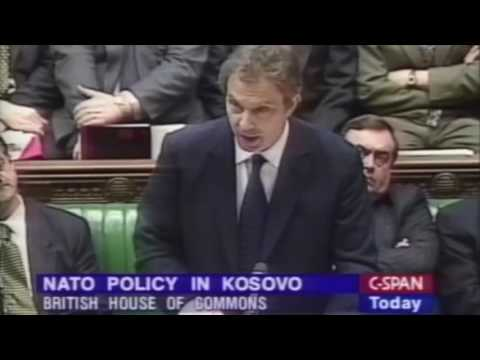 1999: Tony Blair Kosovo Speech