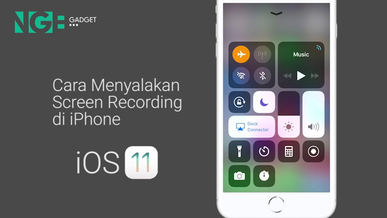 cara iphone 5 jadi ios 11