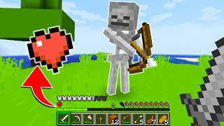 MINECRAFT BUT I HAVE ONLY ONE HEART