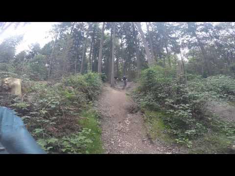 Downhillstrecke am Kothen Wuppertal - 09.2014