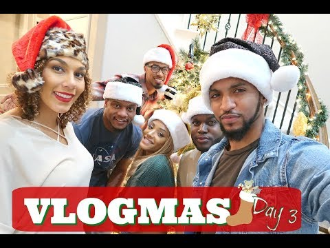 It's LIT!! Decorating Turn up!!!| VLOGMAS 2017- Day 3