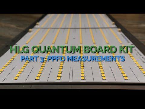 HLG Quantum Board Kit Review: Part 3 - PPFD Measurements