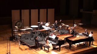 Bernstein - Candide Overture for 2 pianos and Percussion