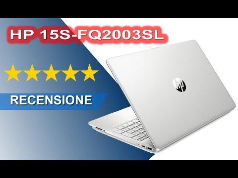 RECENSIONE Notebook HP 15S-FQ2003SL 15.6 Pollici Intel i7 SSD 512 gb Ram 8 gb, Windows 10 H 3Y6J9EA