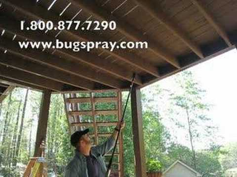 Carpenter Bee Dustick Treatment