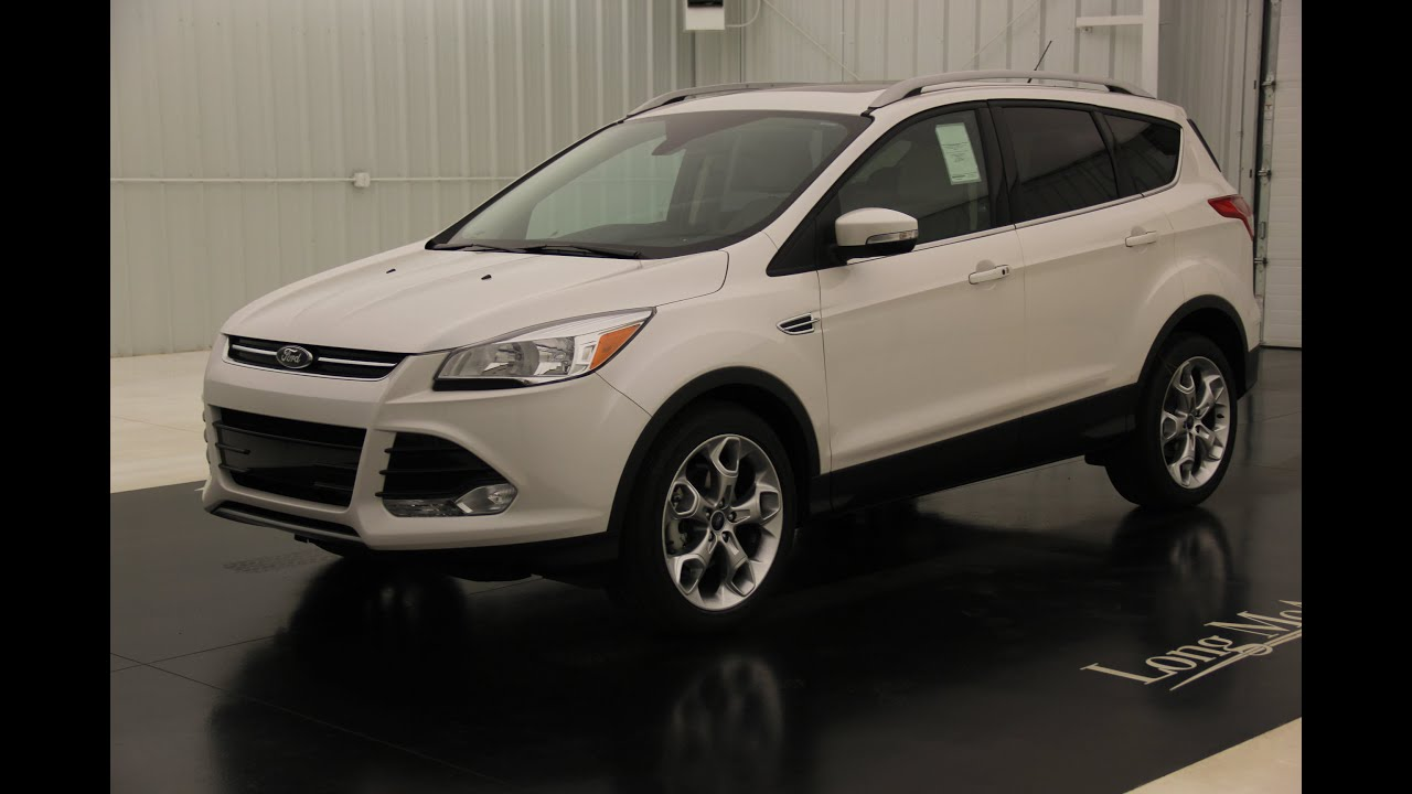 2016 ford escape titanium standard equipment available options