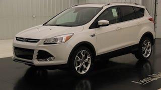 2016 Ford Escape Titanium: Standard Equipment & Available Options