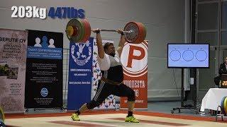 Teemu Roininen weightlifting 2018