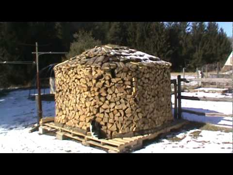 The Holz Hausen Is Finished Youtube