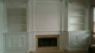 Fireplace Mantel With Surrounding Built-ins, All Created By Carpentrymasters.co