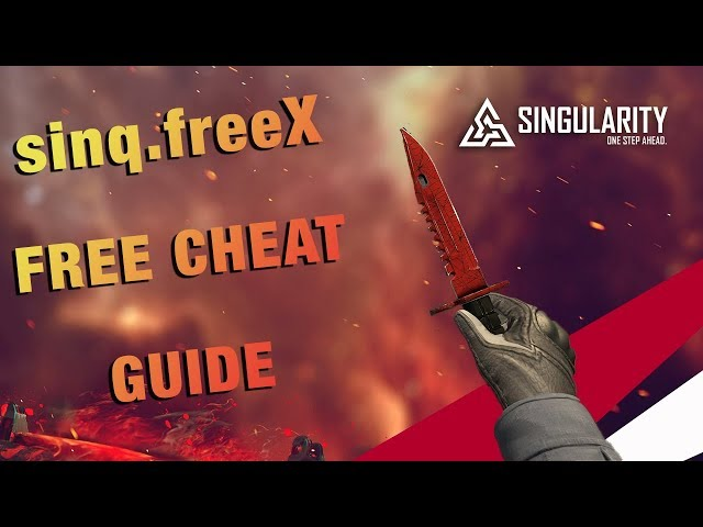 singularity.wtf - Free CS:GO Cheat - UNDETECTED SINCE RELEASE!