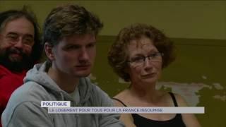 France Insoumise : engagements pour un logement pour tous