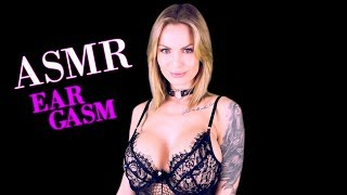 ASMR Amy EARGASM very Intense Breathing Mouth Sounds and Oil S…