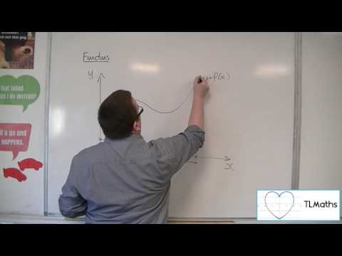 A-Level Maths: B8-02 Functions: Introducing the Domain and Range of a Function