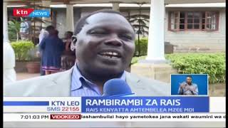 Rais Uhuru aomboleza na familia ya Daniel arap Moi