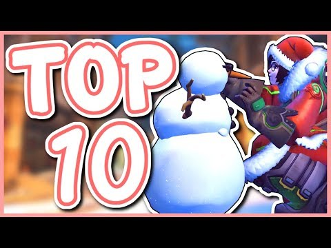 Overwatch - TOP 10 BEST EVENT EMOTES thumbnail
