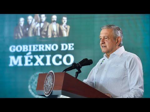 Yucatán, estado ejemplar en seguridad. Conferencia presidente AMLO