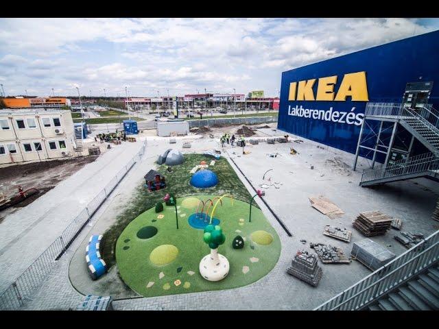 A soroksári IKEA áruház nyitásának bejelentése